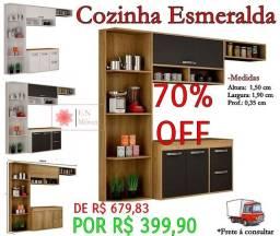 Armário de cozinha promoção 70%off
