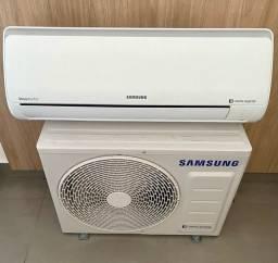 Ar condicionado Samsung 12000 Btus inverter + incluso instalação simples