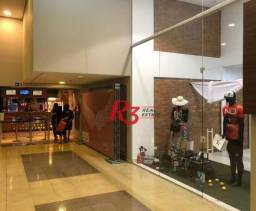 Loja à venda, 30 m² - Gonzaga - Santos/SP