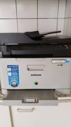 Título do anúncio: Multifuncional Laser Colorida Samsung C460FW + Toners novos, pouquíssimo uso.*Leia anúncio