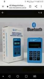 Vendo maquininha mercado pago 20 reais a Bluetooth.  E tem outra q n precisa de celular