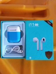 Fone Bluetooth 5.0 sem Fio TWS
