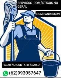 Serviços doméstico em geral