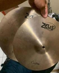 Título do anúncio: Hi Hat (chimbal) Zeus custom 14