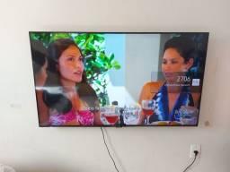 Título do anúncio: TV smar 50/ Caixa amplificada Semp