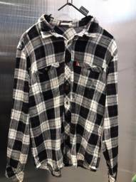 Camisa ML Redley Xadrez Flanela