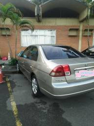 Honda Civic LX aut 2003 completo