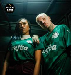 Camisa Palmeiras Puma Lançamento 2021/22