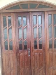 Título do anúncio: Porta de madeira Massaranduba