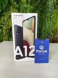Galaxy A12 Preto 64GB Novo/Lacrado - Garantia Samsung + Nota Fiscal.