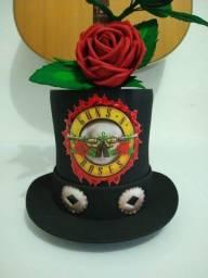 Arranjo de flores personalizado - Guns n' Roses (E.V.A.)