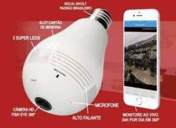 Super Câmera Lâmpada 3D Inteligente 360º