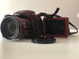 Título do anúncio: Câmera Digital Nikon coolpix p600 - super zoom óptico 60x cmos filma full hd wi-fi