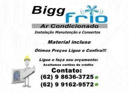 Instalação/manutenção,limpeza,consertos de ar condicionado e outros serviços-ótimos preços