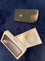 iPhone XR 128GB Preto - Apenas 4 meses de uso!