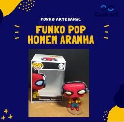 Funko pop artesanal Homem Aranha