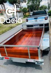 Carretinha/ Reboque carga/ Fazendinha
