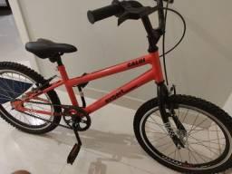 Vendo bicicleta Caloi vermelha aro 20