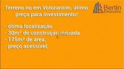 Terreno no em Votorantim, ótimo preço para investimento!