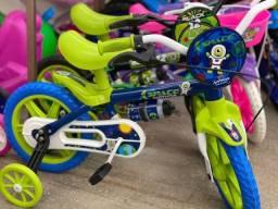 Título do anúncio: Venha já comprar nova bicicleta aro 12 pra criança 3 anos ate 5 anos