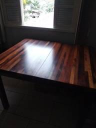 Mesa de madeira Maciça Gramado-RS
