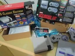 Super Nintendo Classic Edition + Nes Classic Edition