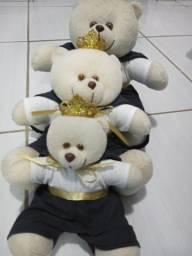 Trio de ursos para nicho