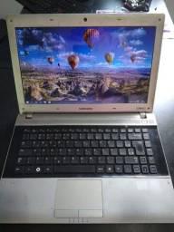 Notebook Samsung i3 4gb de ram 320hd