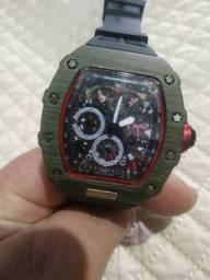 Relógio Richard Mille Com Cronografos