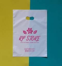 Sacolas personalizadas sorriso para lojas