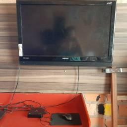 Título do anúncio: TV SEMP C/ TV BOX AQUÁRIO