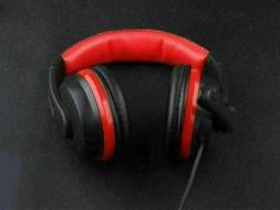 Headset Gamer Com Microfone Usb Tipo-c Cabo Nylon 1.2 Metros