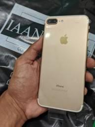 iPhone 7 Plus Gold Vitrine Novo 32 Gb