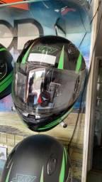 Título do anúncio: Capacete motosky marra TAM até 62 entrega todo Rio