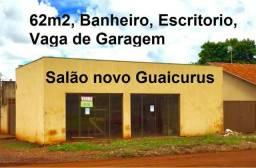 Salão de esquina no Guaicurus na Rua Maria Alves da Silva c/ escritório e banheiro