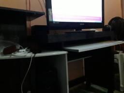 Rack para tv e pc