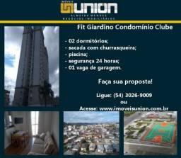 Oferta Imóveis Union! Apartamento em Condomínio Clube no bairro Cruzeiro!