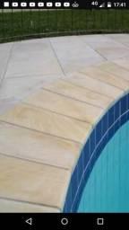 Promoção bordas boleadas p/ piscinas