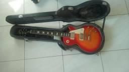 Guitarra Les Paul Epiphone Standard Com Case