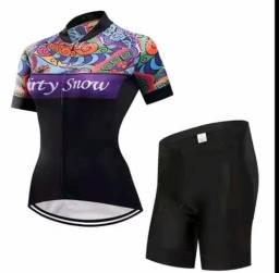 Conjunto de Ciclismo Feminino MTB e SPEED