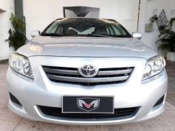 Toyota Corolla XLI 1.8 16V 2010/2010 Prata Blindado - 2010