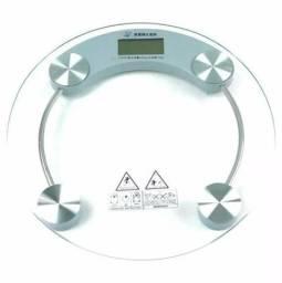 Balança Digital Vidro Temperado 180kg Banheiro Peso Academia
