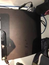 PS3 + 27 jogos + 3 Controles