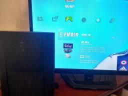Playstation 3 super slim destravado 20 jogos