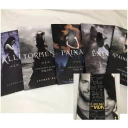 Saga Fallen + livro extra
