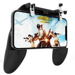 Controle Gamepad W10 Android com 2 Botoes R e L no Joystick Novo Frete Grátis