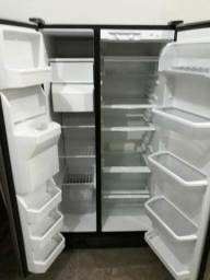 Barbada geladeira side by side 127v.inox