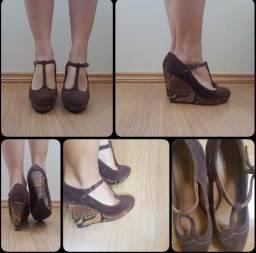 Sapato boneca, plataforma
