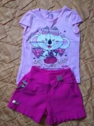 Vendo roupas infantis novas