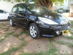 Peugeot 307 1.6 Mod 2009, Completo, Teto Solar, Banco de Couro, Ipva 2020 Grátis - 2009